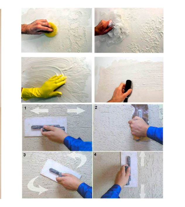 примеры нанесения рисунка на стену поэтапно