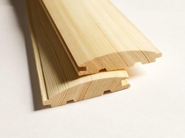 Доски деревянного блок хауса