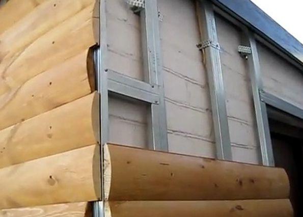 Обшивка дома блокхаусом своими руками