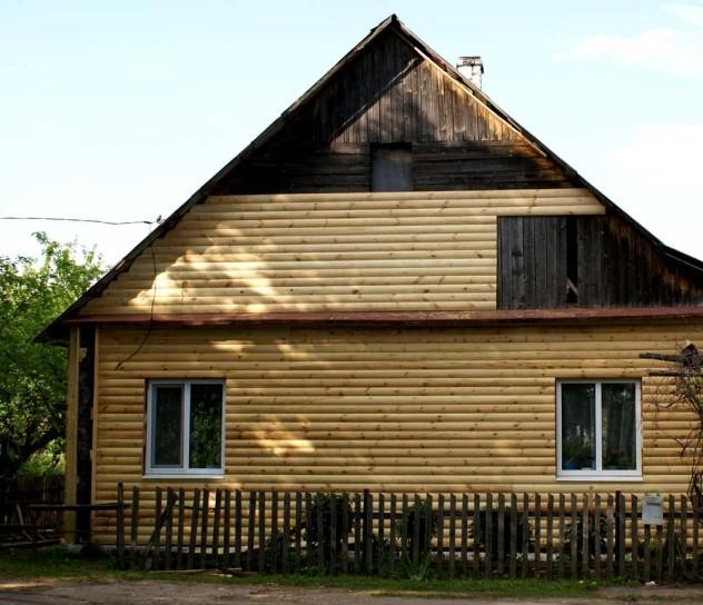 обшивка блок хаусом