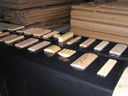 сортировка вагонки из дерева