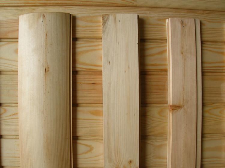 материалы для отделки деревянного дома