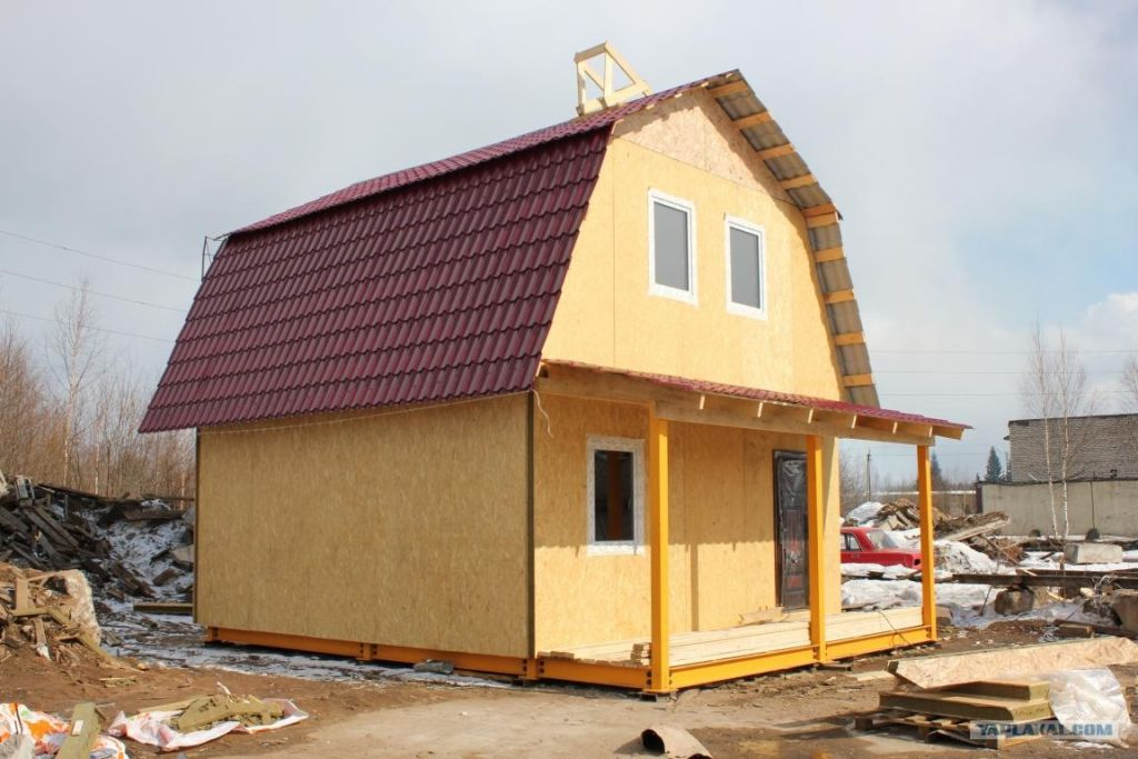 Дом из сип панели своими руками