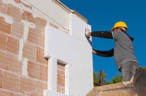 Самостоятельный монтаж плит пенополиуретана на фасад
