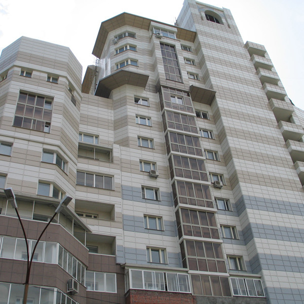 керамогранитная плитка как облицовочный материал вентилируемого фасада