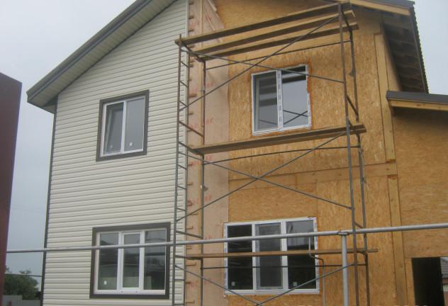 вентилируемый фасад на сип - панели