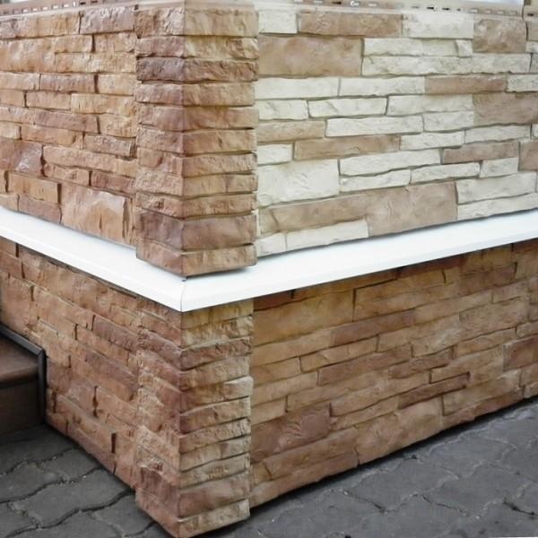 Фасадная панель под натуральный камень