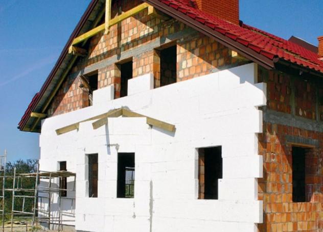 Утепление кирпичного дома пенополастом