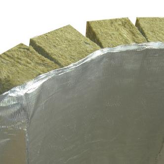 Плита из минеральной ваты с дополнительной изоляционной мембраной