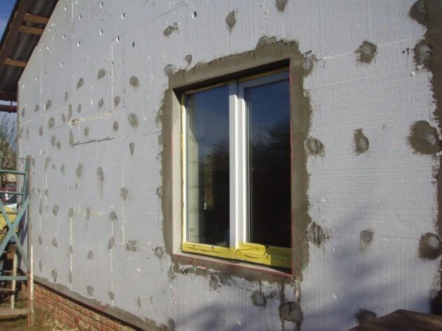 отделка наружных стен пенопластом