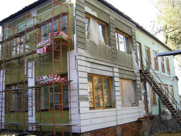 отделка дома мокрым фасадом по технологии церезит