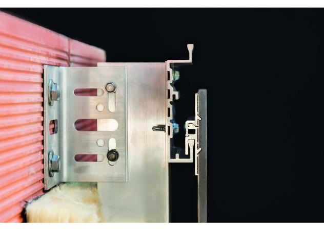 технология монтажа системы вентилируемых фасадов