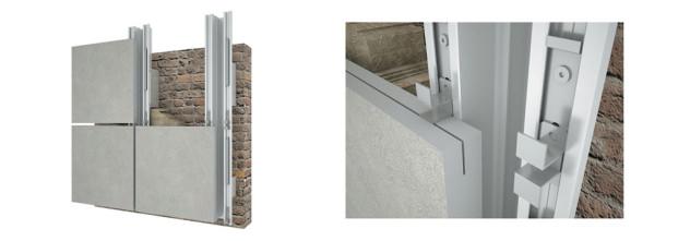 крепление натурального камня по технологии вентилируемых фасадов