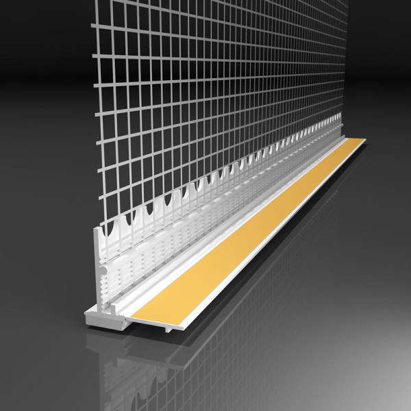 самоклеящийся профиль для надежного соединения утеплителя с окнами и дверьми