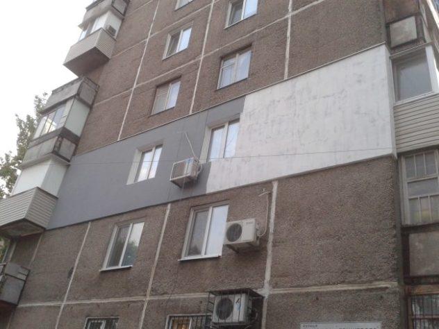Пример утепления квартиры при помощи пенопласта