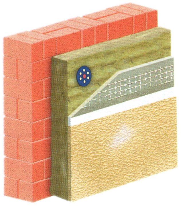 Мкоарая технология дополнительного утепления кирпичной стены