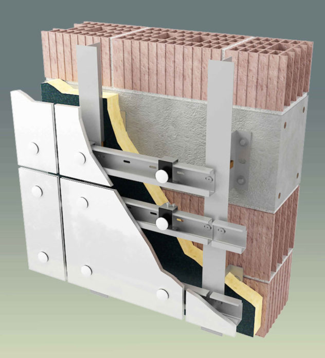 Современный метод дополнительного утепления кирпичной стены