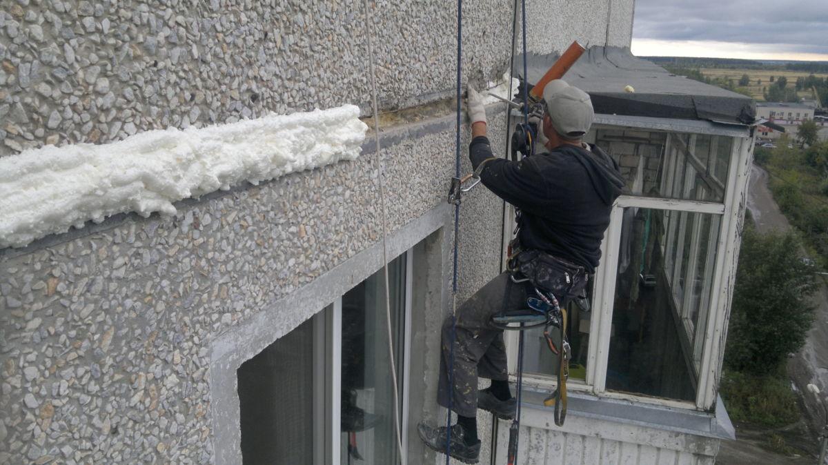 Материалы для утепления стен в панельном доме