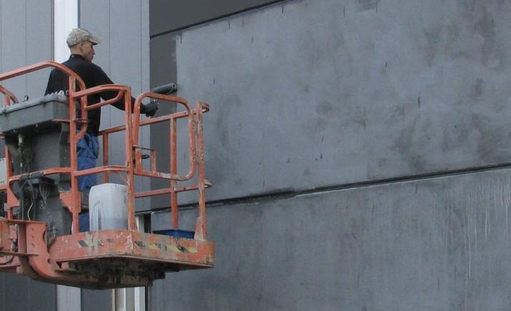 Гидрофобизация фасада путем нанесения защитного состава