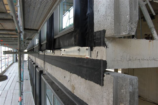 Система герметизации как элемент капитального ремонта с помощью ленты