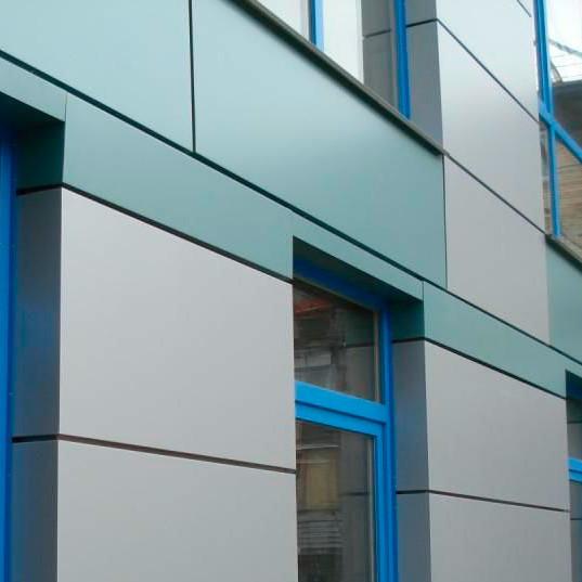 Отделка фасада композитными панелями - современное решение