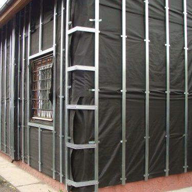 подсистема для металлосайдинга из оцинкованной стали