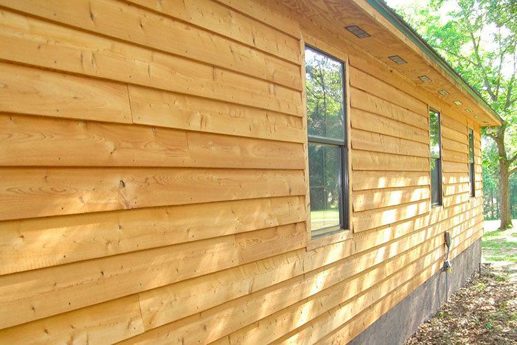 Внешний вид деревянного сайдинга