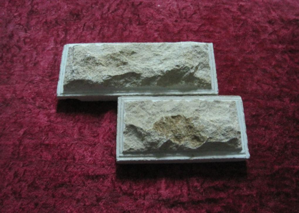 отделка диким камнем