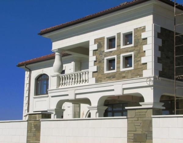 Известняк для отделки фасадов