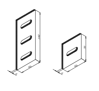 прокладки используемые между кронштейном и стеной