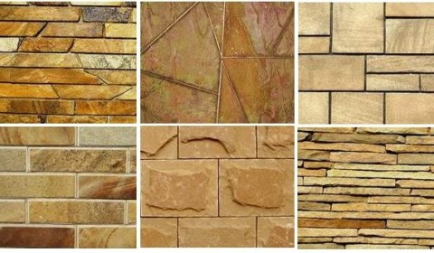 Виды песчаника - натурального камня для облицовки фасада