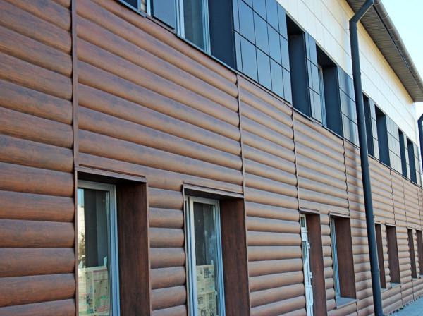 Бюджетный вариант вентилируемых фасадов - отделка блок хаусом