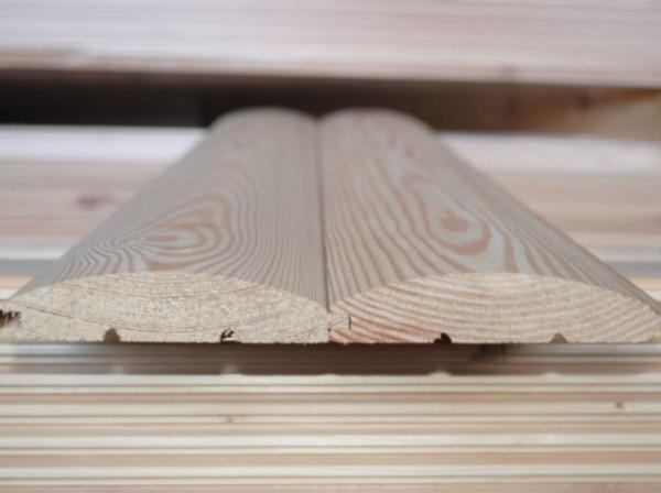 блок хаус из породы деревьев кедр