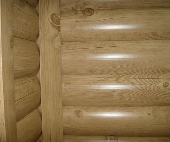 обшивка деревянного дома металлическим блок хаусом