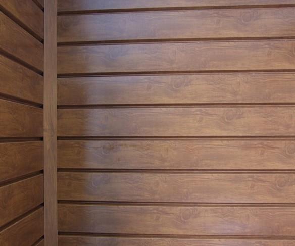 облицовка фасада деревянного дома металлосайдингом имитацией бруса