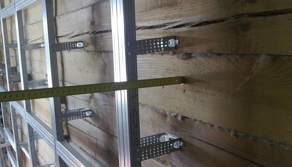 утепляем деревянный дом технологией вентилируемого фасада
