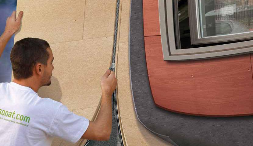 звуковая и термо защита фасада жилого дома - залог комфорта