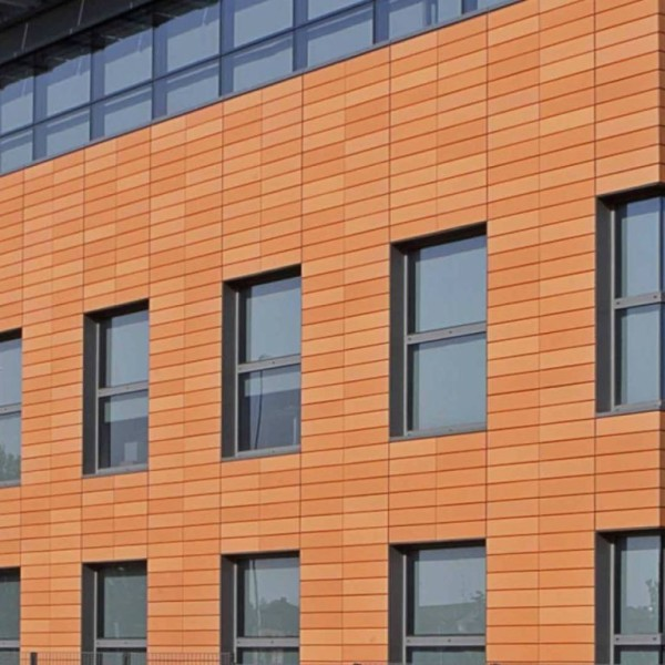 панели вентилируемого фасада из тераккота