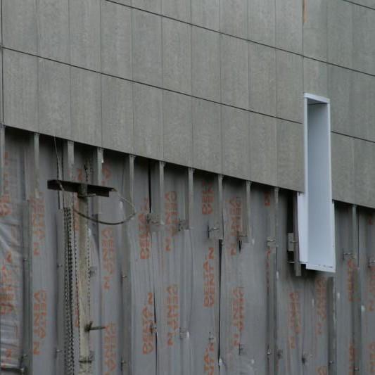 Утепление сухи способом (вентилируемым фасадом)