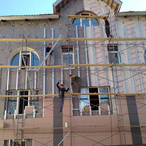 Отделка наружных стен вентилируемым фасадом