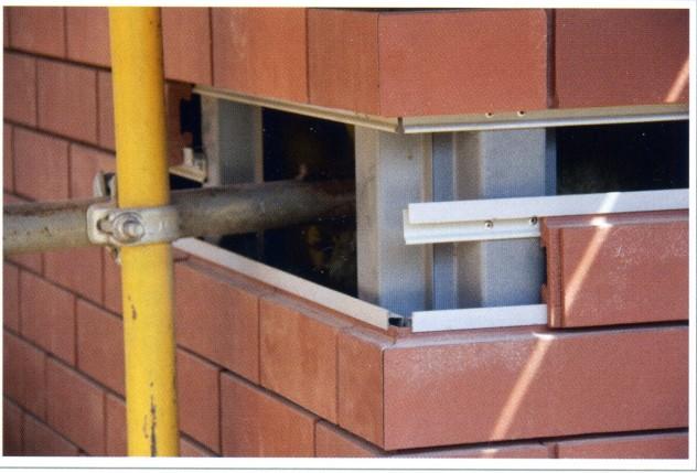 система отделки стен клинкерным кирпичом