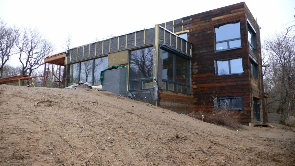 Реконструкция и утепление жилого дома минеральной ватой под сайдинг