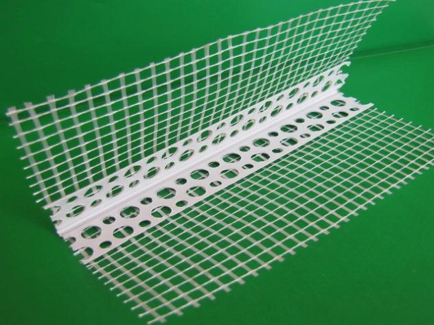 Специальный уголок с сеткой для для надежного, прочного угла фасада