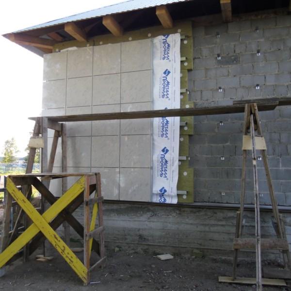 отделка наружных стен дома вентилируемым фасадом