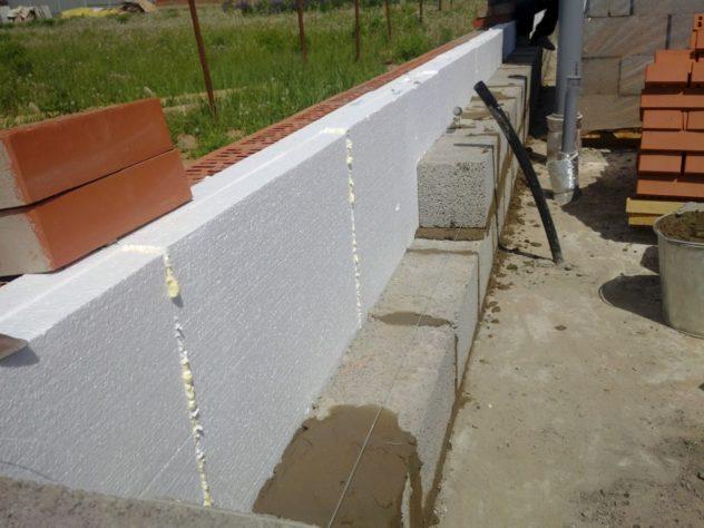 Кладочные материалы для стены (газобетон, пенобетон и так далее)