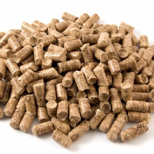 опилки - гранулы для утепления бревенчатого дома
