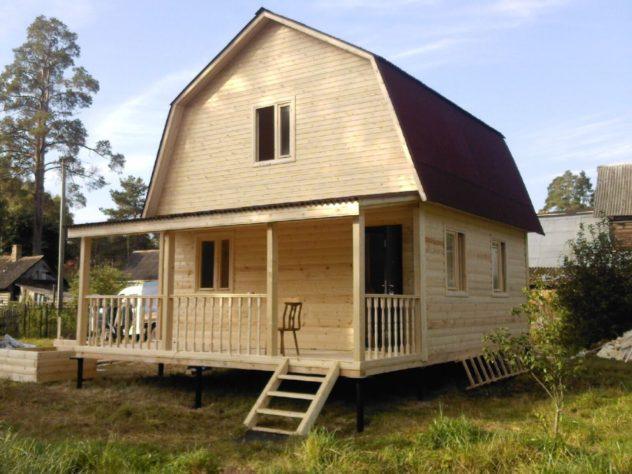 Дом из бруса нуждающийся в утеплении снаружи