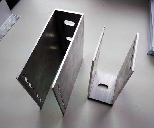 Кронштейны усиленные н образной формы для монтажа тяжелых видов облицовки