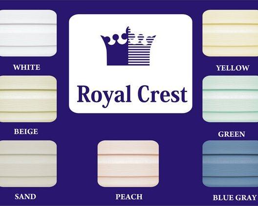 Базовые цвета сайдинга ROYAL