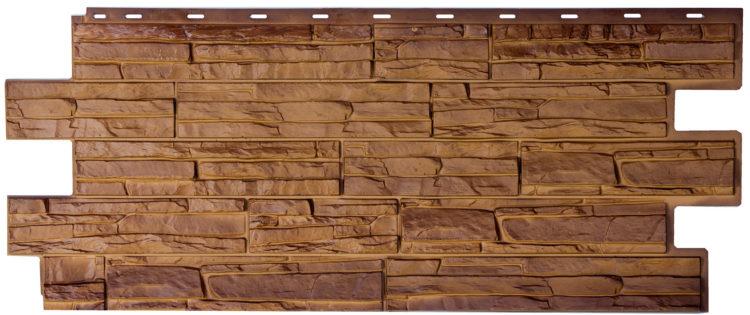 Цокольные панели под камень и скалу